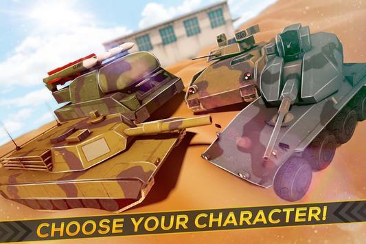 SWAT Tanks Amazing Chase screenshot 2