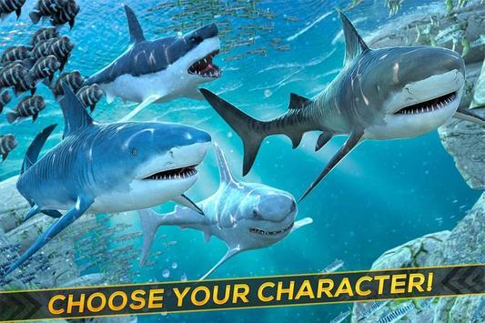 Shark & Crocodile Fight screenshot 2