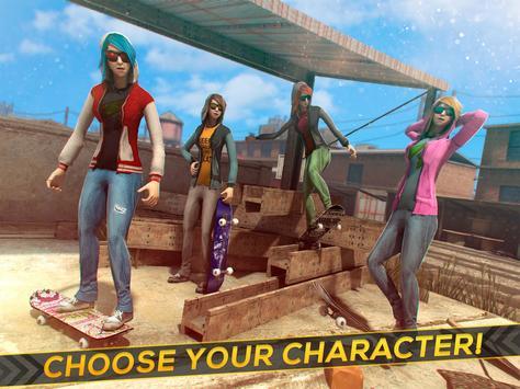 Skateboard Girls vs Boys apk screenshot