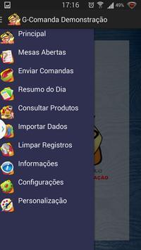 G-Comanda Demonstração apk screenshot