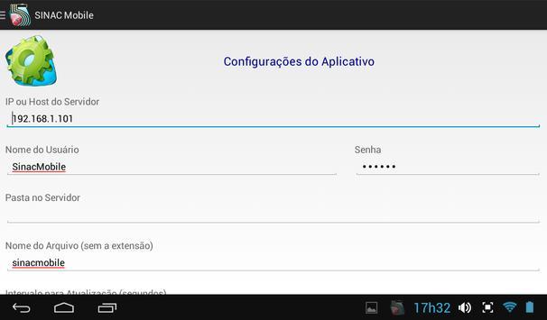 SINAC Mobile apk screenshot