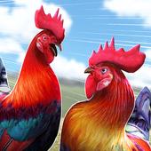 Wild Rooster Run - Frenzy Chicken Farm Race icon