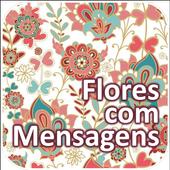 Flores com Mensagens icon