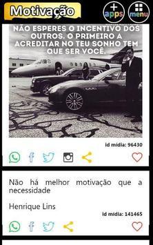 Frases e Mensagens Motivação apk screenshot