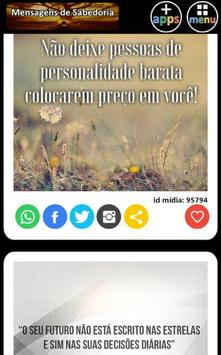 Mensagens de Sabedoria apk screenshot
