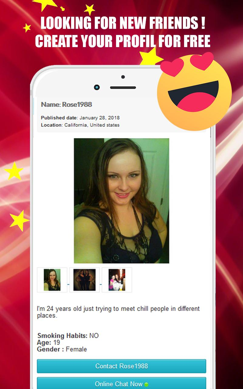 DATING APP & FREE ONLINE VIDEO CHAT ROOMS for Android - APK
