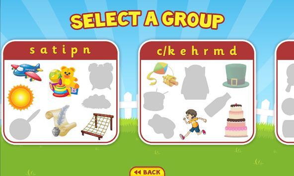 Phonics Puzzles FREE apk screenshot