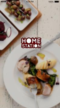 هوم ستيشن   home station poster