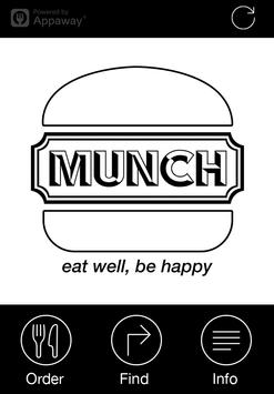 Munch, Hadleigh poster
