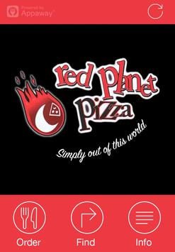 Red Planet Pizza, Shoreditch poster