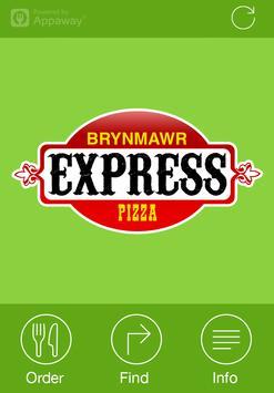 Express Pizza, Brynmawr poster