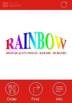 Rainbow, Loughborough poster