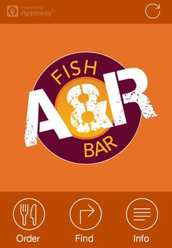 A&R Fish Bar, Lochgelly poster