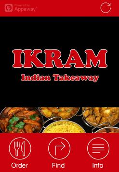 Ikram Indian, Whaley Bridge poster
