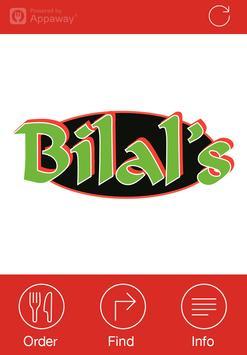 Bilal's, Leeds poster