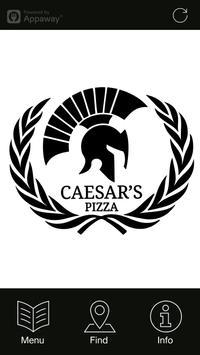 Caesar's Pizza, Leeds poster