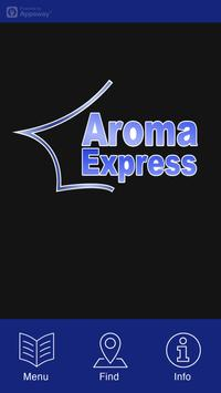 Aroma Express, Winsford poster