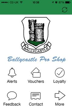Ballycastle Golf Club poster
