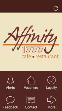 Affinity 1777 Cafe, Essex poster