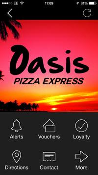 Oasis Pizza, Pontefract poster