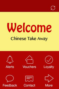 Welcome Chinese, Grantham poster