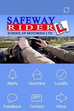 Safeway Rider, Bradford poster
