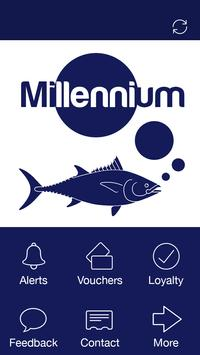 Millennium Fish Bar, Cardiff poster