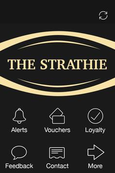 The Strathie, Edinburgh poster