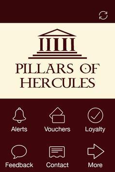 Pillars of Hercules, Soho poster