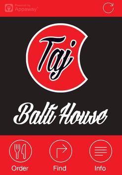 Taj Balti House, Royton poster