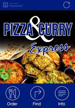 Pizza & Curry Express, Denton poster