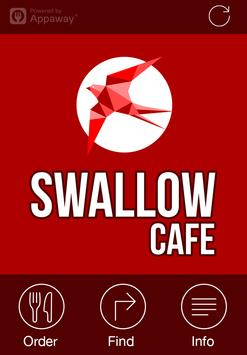 Swallow Cafe, Glasgow poster