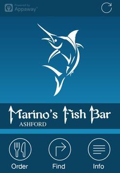 Marino's Fish Bar, UK poster