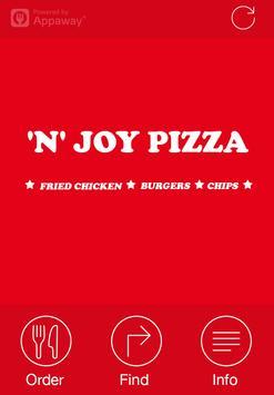 N Joy Pizza, Abertillery poster