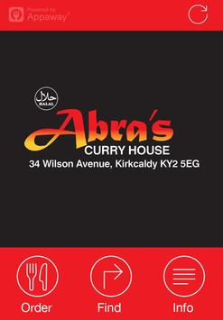 Abra's Curry House, Kirkcaldy poster