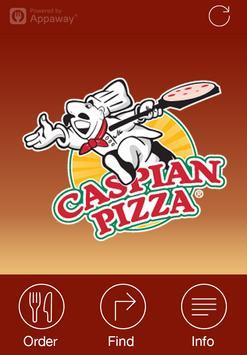 Caspian Pizza, Birmingham poster