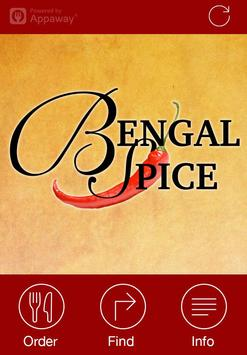 Bengal Spice, Redcar poster