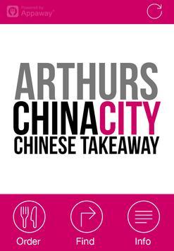 Arthurs China City poster