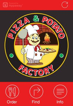 Pizza & Potato Factory, Oldham poster