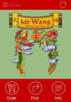 Mr Wang Takeaway, Nottingham poster