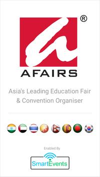 Afairs Events poster