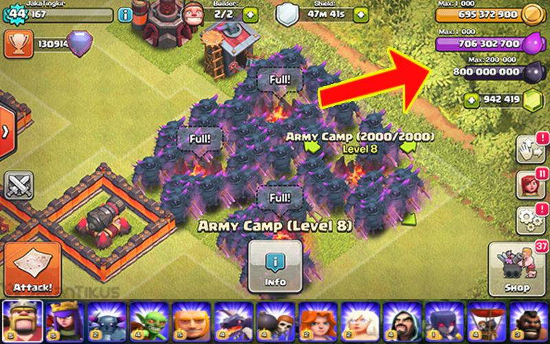 fhx clash of clans apk free download for android