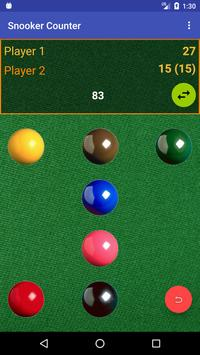Snooker Counter screenshot 1