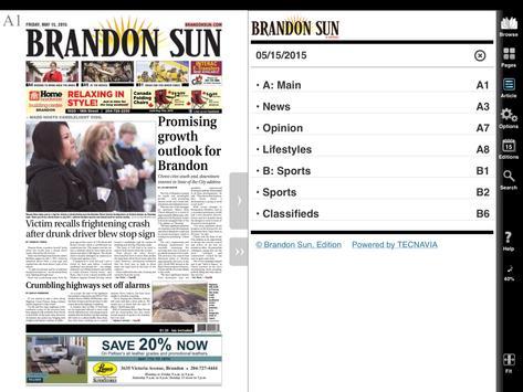 Brandon Sun apk screenshot