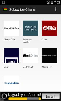 Subscribe Ghana News apk screenshot