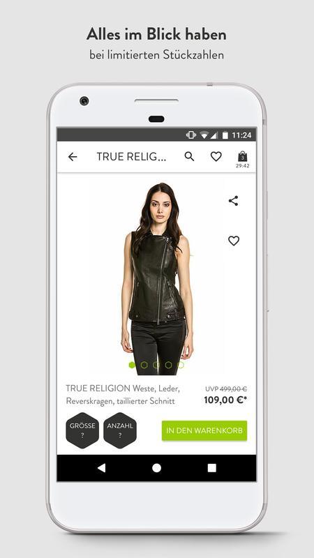 Brands4friends brands4friends designer outlet apk free shopping app for