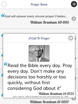 William Branham Quotes/Sayings apk screenshot