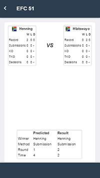 Brabo MMA Predictor apk screenshot