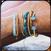 Bracelets of fashion icon