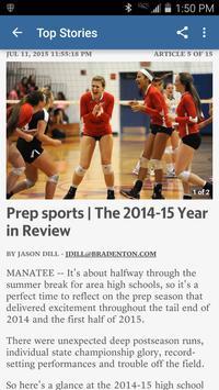 Bradenton High School Sports apk screenshot